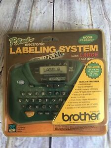 Brother Pt 65 P touch Home Hobby Office Labeler With Large Lcd Display Screen