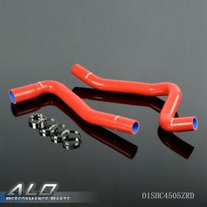 For 1977 1982 Chevy Corvette V8 5 7l 5 0l Silicone Radiator Coolant Hose Tubing