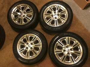 Set Of 4 Honda Civic Rim Almost New Tires