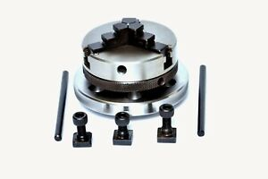 3 Jaw Self Centering Lathe Chuck 65 Mm Backplate For 3 4 Rotary Tables