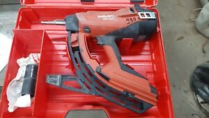 Hilti Gx120 Fully Automatic Gas Actuated Fastening Tool Nailer Gx 120 Powered