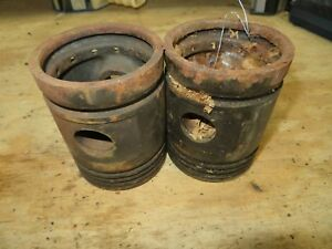 John Deere H212r Nos Piston Pair For H Tractor