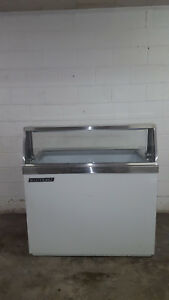 Master built Ice Cream Dip Cabinet 8 Tub Dd48 Tested 115v Freezer