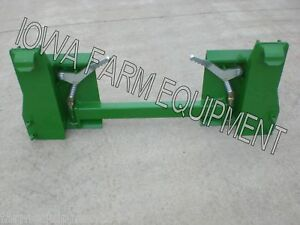 John Deere 300 To 500 Series Quick Attach To Skid Steer Quick Attach Adapter