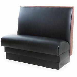 36 H Quick Ship Quality Built Upholstered Single Booths For Restaurants