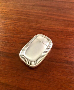 Tiffany Co Sterling Silver Match Case Safe Pristine Condition