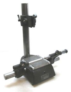 Federal Inspection Gage Comparator Stand W Center Fixture 100b 20