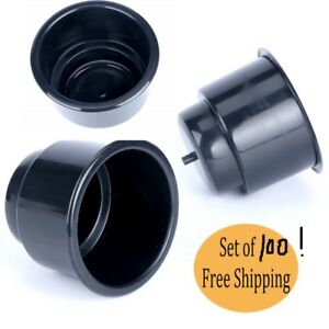 100pcs Black Recessed Plastic Cup Holder For Boat Rv Car Truck Sofa Game Table