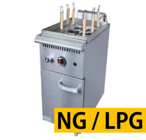 Pantin Commercial 6hole Gas Pasta Noodle Cooker Range Stove Machine With Cabinet