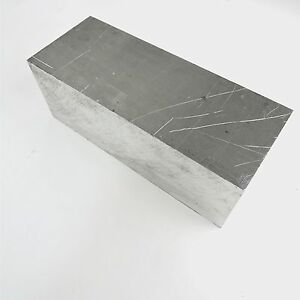 4 Thick 6061 Aluminum Plate 5 75 X 12 Long Solid Flat Stock Sku 122255