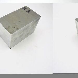 4 Thick 6061 Aluminum Plate 6 3125 X 12 125 Long Solid Flat Stock Sku 122256