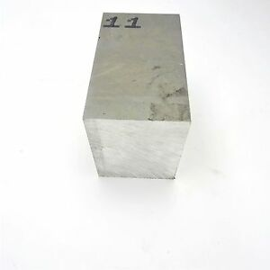 4 Thick 6061 Aluminum Plate 4 4375 X 7 75 Long Solid Flat Stock Sku 137499