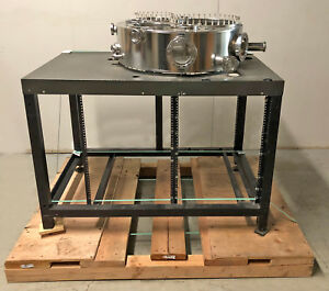 Ultra High Vacuum Chamber Stainless Steel Conflat Cf Cff 28 5 x 9 Uhv Ss stand