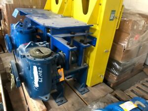Rebuilt Metso Hm200 Slurry Pump With Mechanical Seal Bearing End