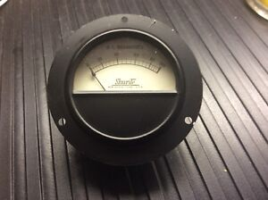 Shurite Meter Antique New Iob Ford Model T 550 Panel Meter 0 100 D c Ma