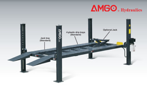 New 4 Post Hoist Amgo Brand 8 000 Lb Car Truck Four 8k Lift