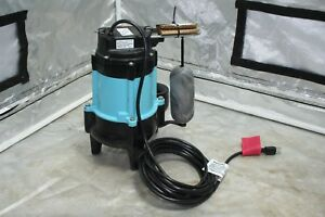Little Giant 10s cia sfs 1 2hp Sewage Pump With Float Switch