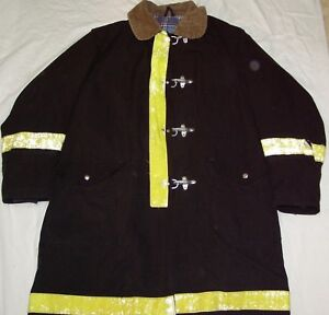 Globe Firefighter Turnout Coat Bunker Gear Jacket Size 46 Fire Protection used