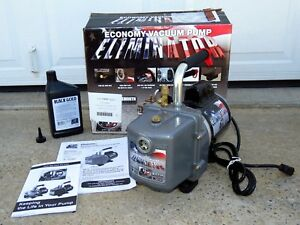 Jb Industries 4 0 Cfm Deep Vacuum Pump Eliminator Dv 4e Made In Usa