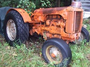 Old Case Do Orchard Farm Tractor