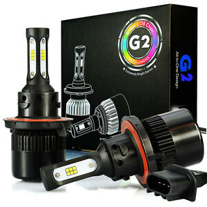 Jdm Astar G2 H13 Led Headlight Bulbs For Sentra F 150 Freestar Durango Monterey