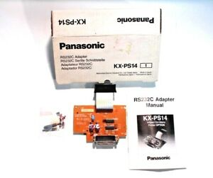 Panasonic Kx ps14 Serial Non current Loop Interface Board Rs232c Adapter