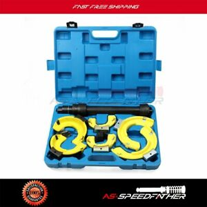 Interchangeable Yokes For Mercedes Bmw Coil Spring Compressor Tool Kit