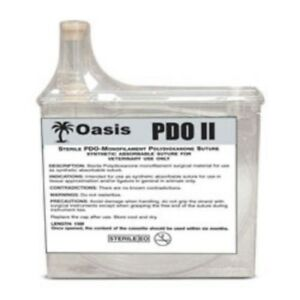 Oasis Veterinary Pdo Suture Cassette Synthetic Absorbable Size 0 15 Meters