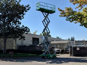 2012 Genie Gs 2646 Scissor Lift Service Records Included