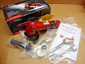New Chicago Pneumatic Cp9120crn Industrial 4 Air Angle Grinder 12000rpm