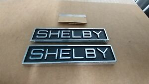 Vintage Ford Shelby Emblems Rare Piece Of Shelby History Beautiful Quality