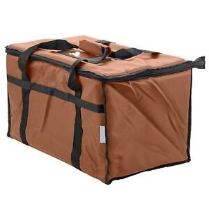 Insulated Food Delivery Bag Pan Carrier 23x13x15 Food Warmer Easy To Carry New
