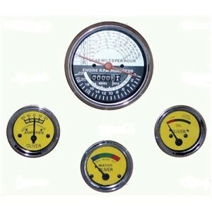 New Oliver Tractor Super 55 66 77 Tachometer Hour Meter Gauge Set 30 3485471
