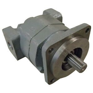 257953a1 17 Spline Hydraulic Pump For Case Loader Backhoe 580l 580m