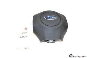 15 16 17 Subaru Impreza Wrx Sti Oem Driver Steering Wheel Airbag Air Bag Srs