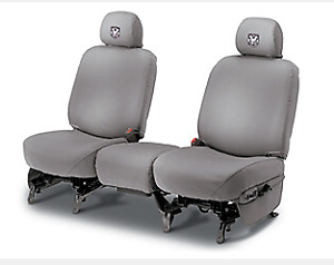 06 10 Dodge Ram 2500 3500 4500 5500 Mist Gray 40 20 40 Front Bench Seat Cover