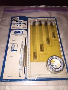 rare vintage Wire Wrapping Kit Ok Industries Wk 2 w In Original Package