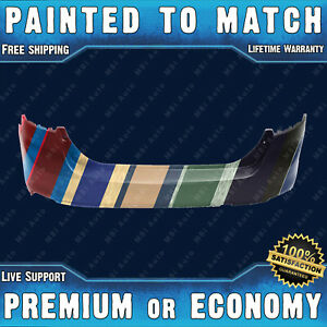New Painted To Match Rear Bumper Replacement For 2012 2014 Ford Focus Sedan 4dr