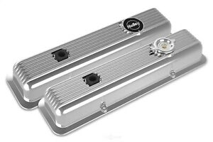 Holley Sbc Muscle Series Valve Covers Small Block Chevy Polished Finish