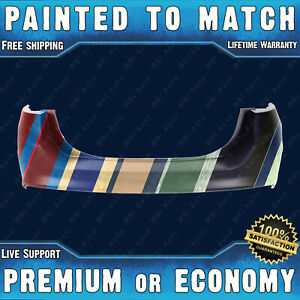 New Painted To Match Rear Bumper Cover For 2013 2018 Ford Fusion W o Park Assist
