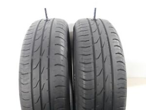 Set Of 2 175 65r15 Continental Contipremiumcontact 2 175 65r15 84h Used Tire