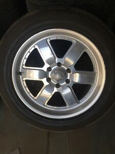 Set Of 4 Centerline Tomcat 20 X 8 5 Wheels On Bridgestone Tires