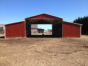 Metal 44x31 A frame Steel Building Horse Animal Barn Agricultural Free Install