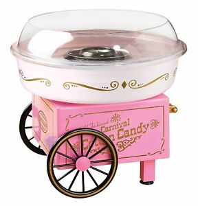 Nostalgia Vintage Collection Hard And Sugar free Cotton Candy Maker New