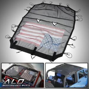 Sunshade Uv Protection Mesh Sun Shade Top Cover For Jeep Wrangler Jk Accessories