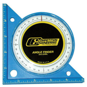 Competition Engineering 5020 Angle Finder W 1 2 Degree Increments