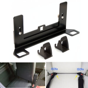 Latch Isofix Car Seat Belt Interfaces Guide Bracket For Baby Child Safety Seat