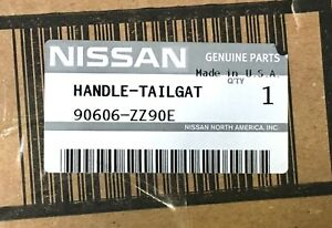 2005 2013 Nissan Armada Rear Tailgate Release Handle New Genuine Oem 90606 zz90e