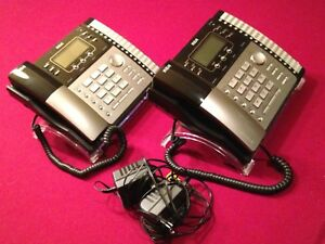 Rca Visys 25424re1 c Business Expandable 4 Line Telephone With Adapter Lot Of 2