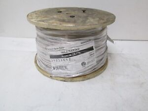1000ft Honeywell 31231012 14 2 Stranded Cable Plenum Or Ft6 Cl3p Fplp New